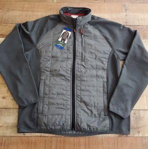 Orvis Hybrid Mixed Media Gray Jacket sz Large NWT